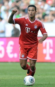 Thiago Alcantara in his debut